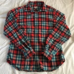 Merona • flannel button down